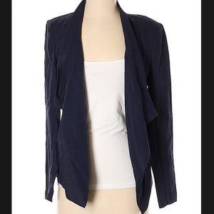 Micheal Kors linen open front blazer size 2